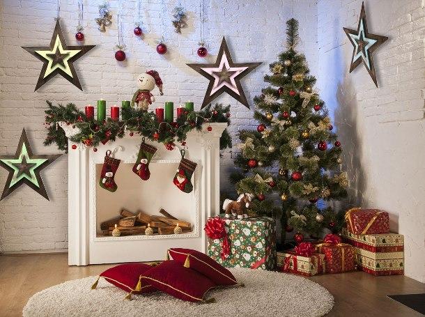Рождественские звезды скидка