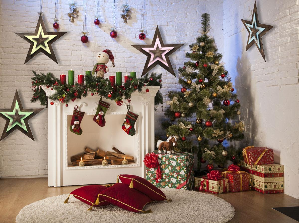 WDS-BL Звезда деревянная в морском стиле / Ширмы для комнаты / ДЕКОР для дома Прованс и Кантри / Каталог товаров / Ля Нэж мебель